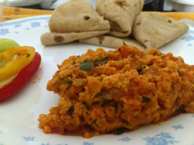 Paneer Bhurji (Cottage Cheese Scramble)