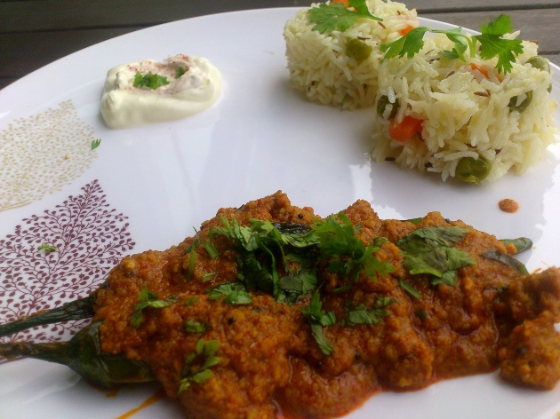 Mirchi ka Salan (Green Chillies Curry)