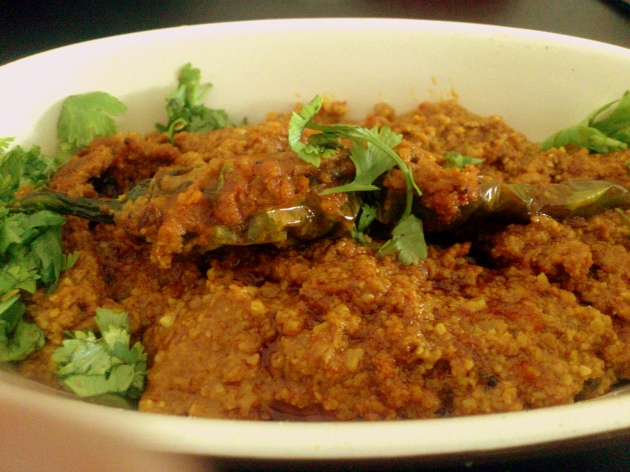 Mirchi ka Salan (Green Chillies Curry)