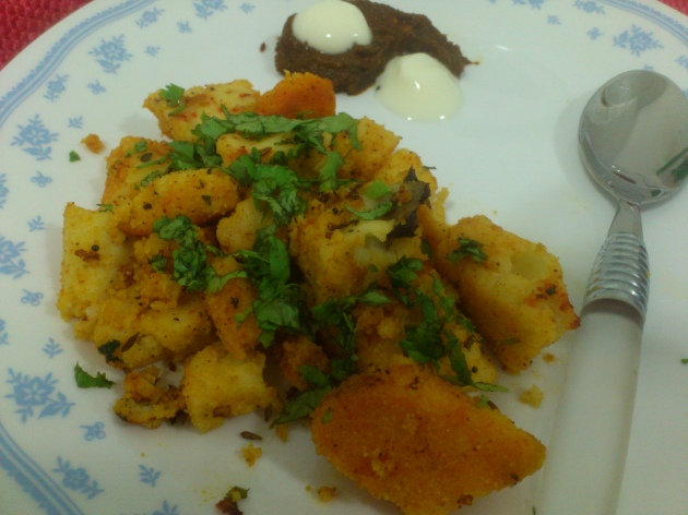 Khatiya Dhokla (Steamed Rice and Lentil Snack)