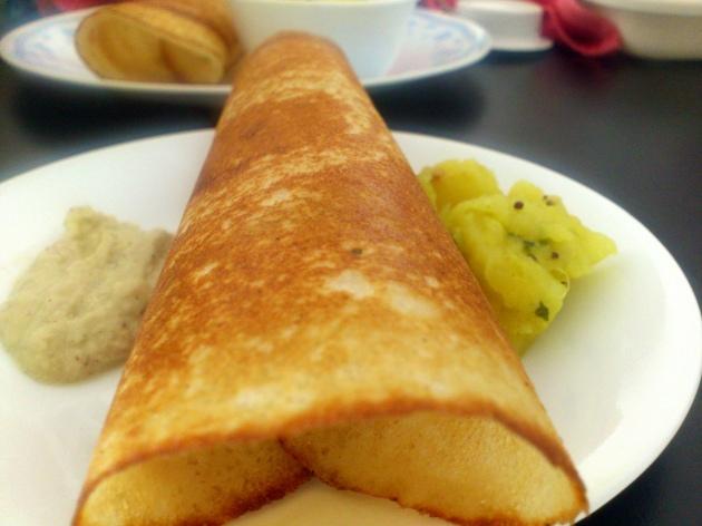 Masala Dosa (Indian Savory Pancakes)