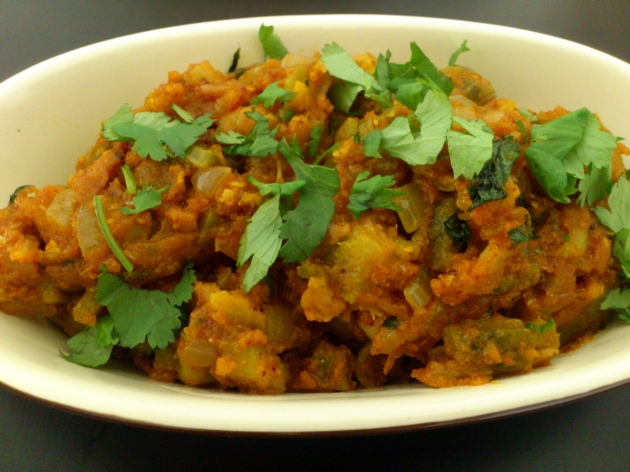 Karela Masala (Bitter Gourd Curry)