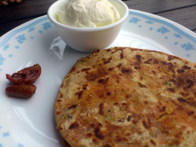 Gobhi Parathas (Cabbage Stuffed Parathas)