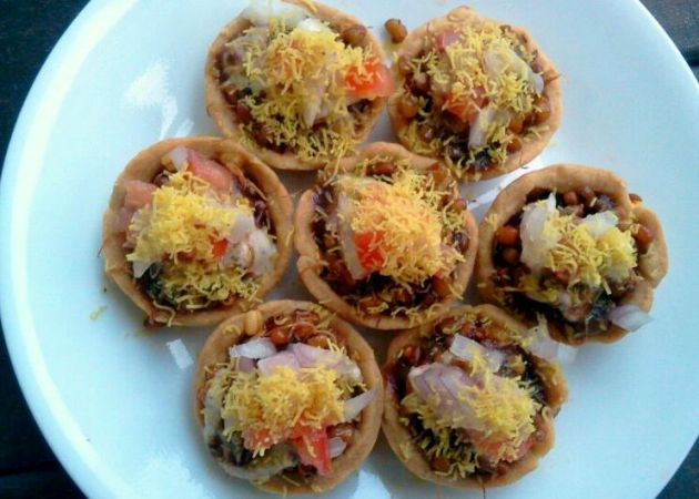 Savory Tarts (Katori Chaat)