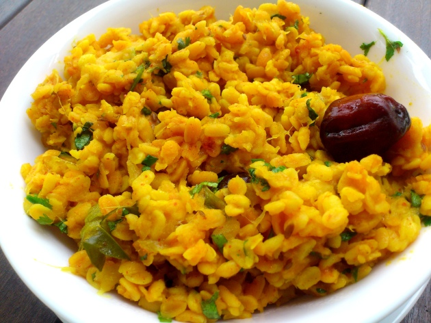 Rajasthani Mogar (Split Yellow Gram with Raw Mango)