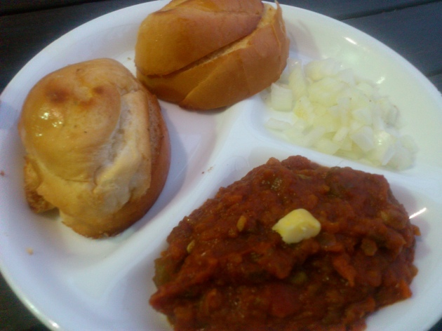 Pav Bhaji (Indian Street Food)