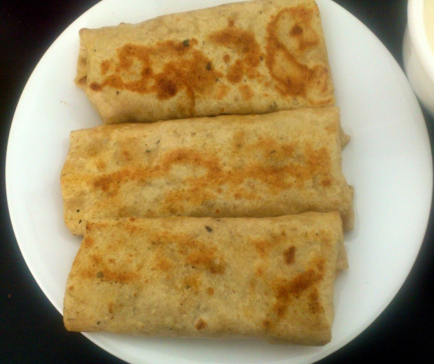 Paneer Wraps (Cottage Cheese Wraps)
