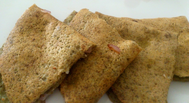 Pesarattu (South Indian Savory Crepes)
